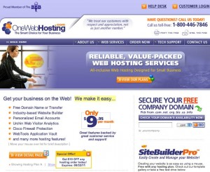 oneweb business hosting