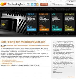 webhostingbuzz small business hosting